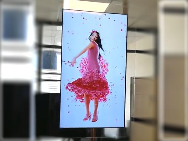 透明OLED屏