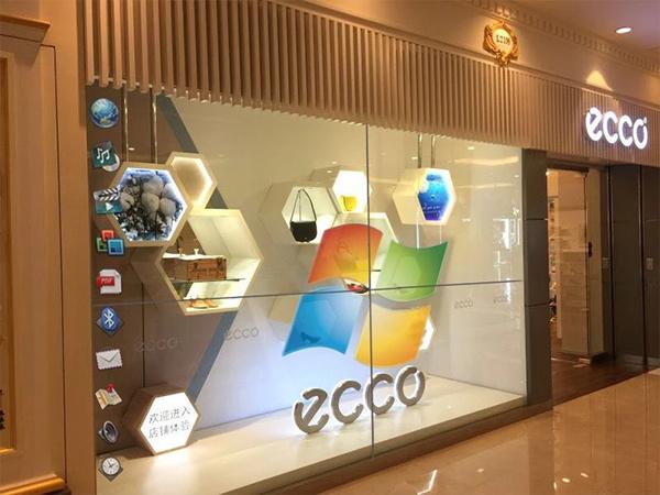 ECCO 透明拼接