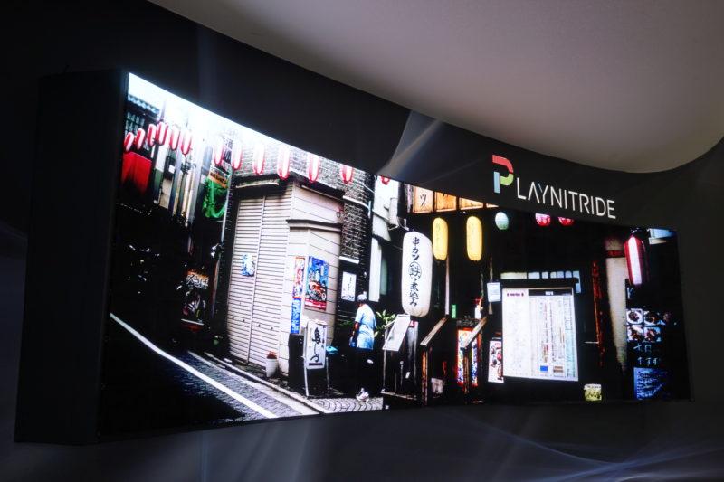 錼創展出產品包括 89 吋 5K PixeLED Matrix 全球首台超寬曲面 Micro LED 顯示器